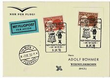 "1938, Flugpost , "" Wien "" , *604"