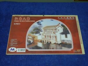 Woodcraft construction Kit Family In southern china G-PH011 Factory Sealed