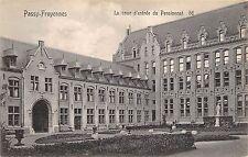 BR42463 Passy Froyennes la cour d entree dy pensionnat belgium