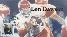 GREAT SOUTHERN COVER CO HAND-MADE FDC FIRST DAY COVER LEN DAWSON WORLD CHAMPS