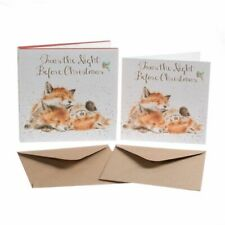Wrendale Designs - 'The Night Before Christmas' Christmas Card Set