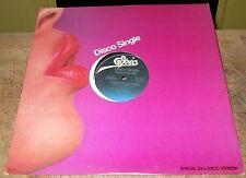 """1977 Epic Records Disco Single Vinyl 12"""" Record Melba Moore  VG+"""