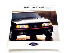 1988 Ford Mustang and GT 20-page Car Sales Brochure Catalog - Convertible