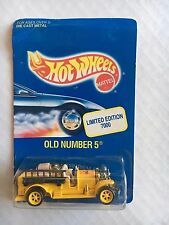 HOT WHEELS 1994 OLD NUMBER 5 LIMITED EDITION 7000