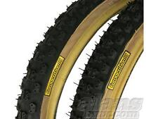 Tioga Comp III Vecchia Scuola Bmx Skinwall pneumatici 20 x1.75/2.125 COPPIA BRUCIATORE Haro GT