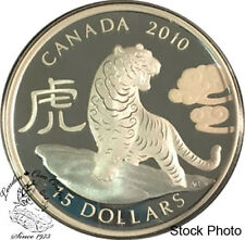 Canada 2010 $15 Year of the Tiger Silver Coin