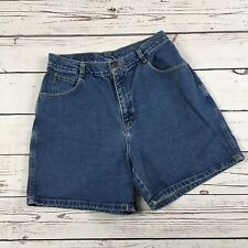 "Gitano Vintage Womens Blue Denim Grunge Mom Jean Shorts Size 30"""
