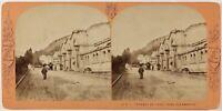 Lamy, Francia Auvergne Clermont-Ferrand, Royat, Foto PL27 Stereo Albumina c1870
