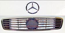 Mercedes W220 Sport Grille W/140mm Big Star Emblem S-Class up to 09/02 Schatz