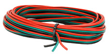 DCC Concepts RGB - 5m Roll 16/0.2 Triple Ribbon Point Motor Wire Red/Green/Black