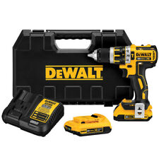 DeWALT DCD795D2R 20-Volt Max Compact Cordless Hammerdrill Kit - Reconditioned