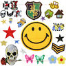 Various Pointed DIY Fabric Sticker Embroidery Badge Patch Clothes Ornament