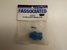 TEAM ASSOCIATED -  FR DRIVE / DISC BRAKE HUB BLUE - Model # 25053