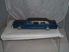 VINTAGE MAJORETTE STRETCH LIMOUSINE IN BLUE IN USED CONDITION ORIGINAL C PICS !