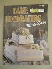 Women's Weekly CAKE DECORATING MADE EASY