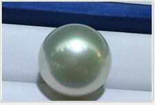 Huge 14mm genuine South sea genuine perf round silver gray loose pearl undrilled