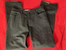 "WRANGLER Womens TINA 98% Cotton Stretch Black Jeans W32"" x L34"""