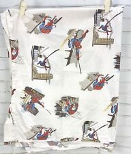 Pottery Barn Kids PBK Spiderman Flat Sheet - Twin Size Bed - 100% Cotton 2008