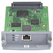 Hp Jet Direct 625n j760g Eio 10/100/1000 Plug In Print Server Card Good