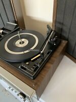 Emerson Turn Table AM/FM Stereo Receiver 8 Track Speakers M2350 Multiplex