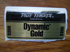 True Temper Dynamic Gold Wood Golf Shaft Steel S300