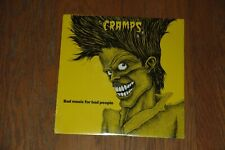 THE CRAMPS Bad Music For Bad People SEALED Vinyl LP 1st US 1984 IRS