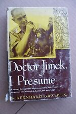 DR JIMEK I PRESUME BY GRZIMEK