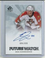 2011-12 SP Authentic Future Watch Rookie Autograph #235 ERIK GUDBRANSON #694/999