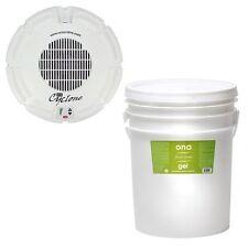 ONA Bundle - Cyclone Fan and Fresh Linen 5 Gallon Gel - odor neutralizer