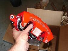 "97-04 C5 ""New"" Genuine GM Corvette RED Z06 Brake Caliper Set 88895128 29 30 31"