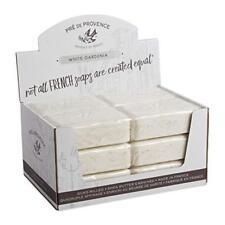 Case 12 Pre De Provence French Bar Soap White Gardenia 250g 8.8 Ounce Each Shea
