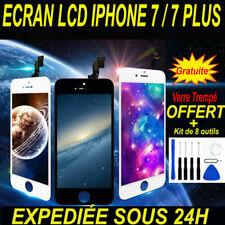 VITRE TACTILE + ECRAN LCD RETINA POUR IPHONE 7 / 7 PLUS NOIR OU BLANC + OUTILS
