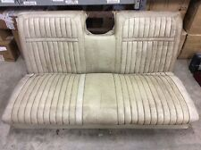 1965 1966 CHEVY IMPALA CONVERTIBLE rear seat 2 piece used cores SOLID OEM