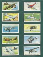 Post - 2nd World War Aircraft Collectable Cigarette Cards
