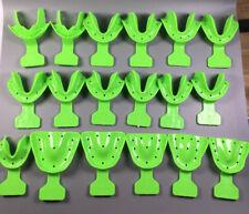 18/SET Dental Edentulous Jaw Impression Trays Full Denture Frame Cut Back *1Set