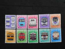 JAPAN COMMEMO STAMPS ( RAILROAD SERIES NO.3-2 ) USED