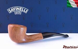 Tubo Pfeife Pipe Savinelli grezza cerata 305 Dublin filtro 9mm made in italy