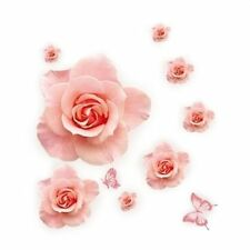 Rose Flower Pattern Removable Wall Sticker Decal DIY Home Decor N3