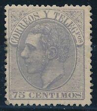 España - Correo- Año: 1882 - numero 00212 - * Alfonso XII / ebay Pequeño defecto