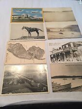 Vtg 1950's Post Card Eastern Vermont N H N J Lot Of 8 #9