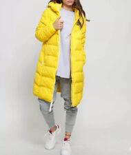 Nike Sportswear Windrunner Down Fill Parka Jacket AQ0019-703 Yellow Size S New