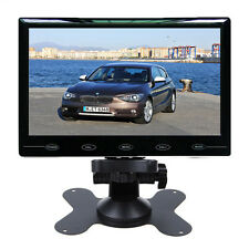 """7"""" Ultra Thin HD TFT LCD Color 2 Video Input Car Rear View Monitor - US"""
