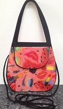 Angela Frascone Vintage Designer Resin Purse Handbag Whimsical Make-up Design