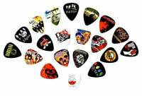 Legendary Bands Guitar Picks- [Mega-Standard] 20 picks in a packet