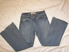 Levi Strauss Signature Stretch Low Rise Flare Jeans - Girls Size 14 Reg
