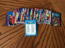 Complete Trading Card Set: 1992 Unity 90 Card Base Set Valiant