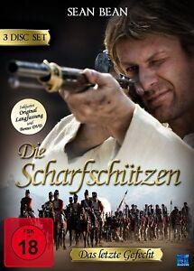 Die Scharfschützen - Das letzte Gefecht ( TV Kult UNCUT 3 DVDs)mit Sean Bean NEU