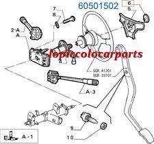 60501502 Fregio Clacson Volante Alfa 75 * Alfa Spider * Alfa 33 . ORIGINALE