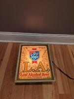 Heilmans Old Style Beer LA Low Alcohol Lighted Bar Sign