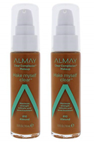 Almay Clear Complexion Make Myself Clear Makeup #810 Almond (2 Pack)